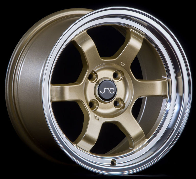JNC013 GOLD Machined Lip - JNC Wheels