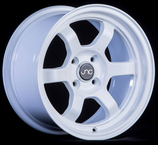 JNC013 White - JNC Wheels