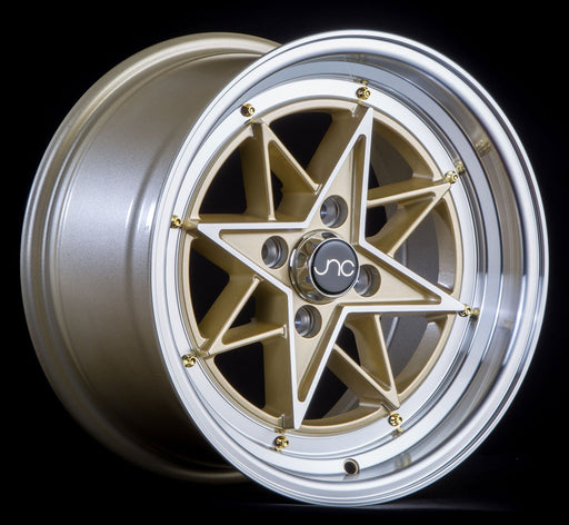 JNC025 GOLD Machined Face Gold Rivets - JNC Wheels