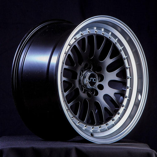 JNC001 Gloss Black Machine Lip - JNC Wheels