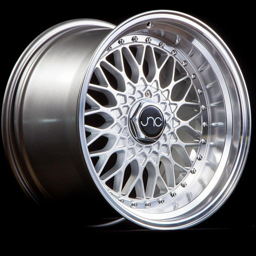 JNC004 Silver Machined Lip - JNC Wheels