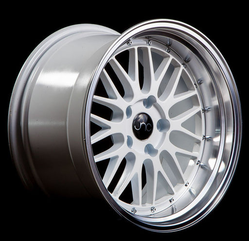JNC005 White Machined Lip - JNC Wheels