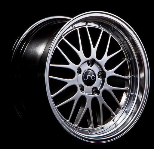 JNC005 Hyper Black Machine Lip - JNC Wheels
