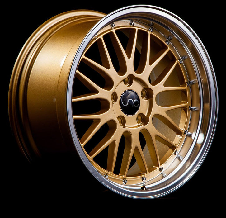 JNC005 Gold Machined Lip - JNC Wheels