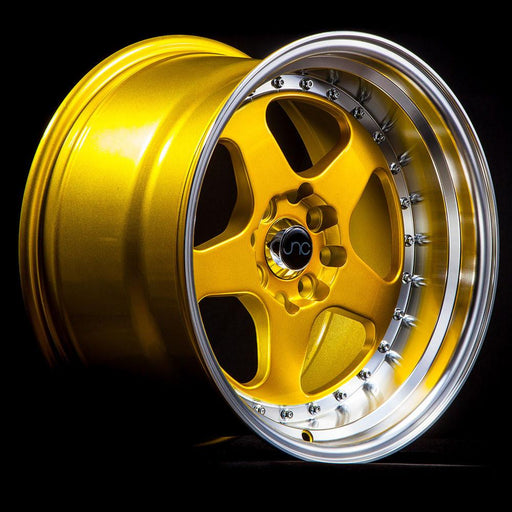 JNC010 Candy Gold Machined Lip - JNC Wheels
