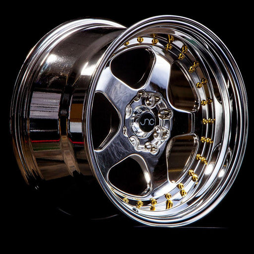 JNC010 Platinum Gold Rivets - JNC Wheels