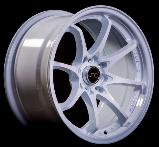 JNC006 White - JNC Wheels