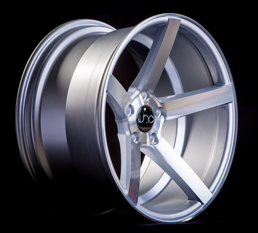 JNC026 Silver Machined Face - JNC Wheels
