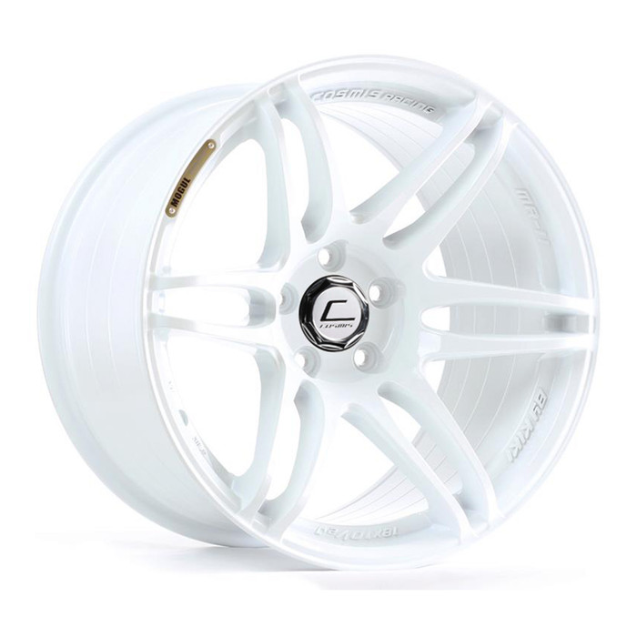 MRII White Wheel 18x10.5 +20mm 5x114.3
