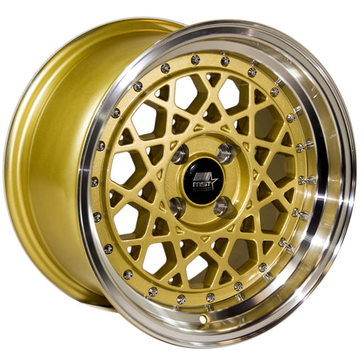 MT21 Fiori Gold w/ Machined Lip