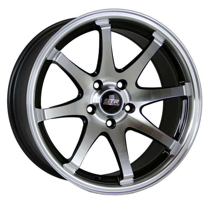STR 903 Black Machine Face (FORGED WHEEL)