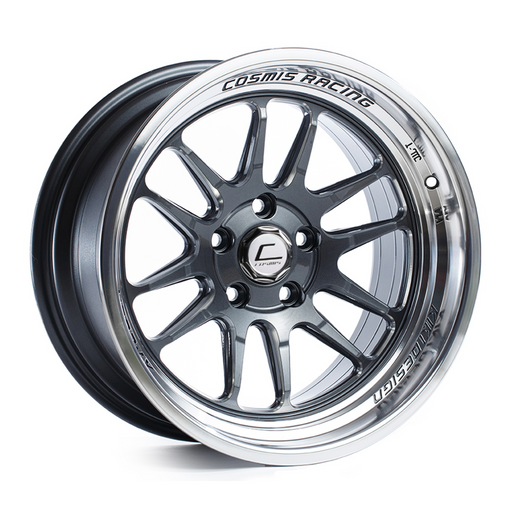 XT-206R Gun Metal w/ Machined Lip Wheel 18x9.5 +10mm 5x114.3