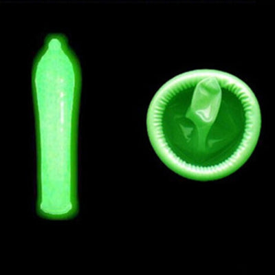 Ultra-Thin Glow in the Dark Condoms - 3 Pack