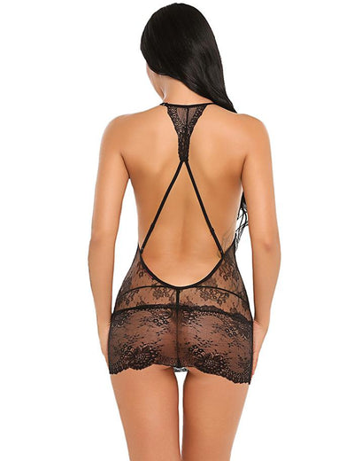 Sweetheart Transparent Babydoll