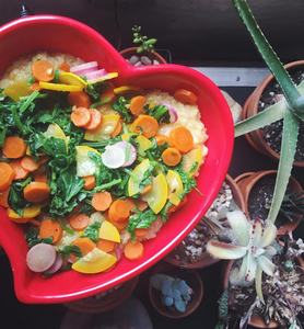Farm Fresh Self-Love Seasonal Ayuverdic Bowl by Sasha Nelson