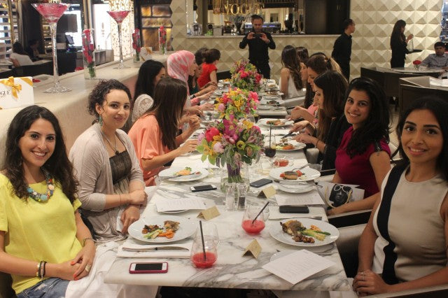 Flowers.ae were delighted to supply the flowers for the lavash Vogue Cafe event organised by the renowned Tala Samman