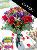 Graceful Beauty in a Vase (Welcome Home Gift Set)
