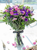 Lavender Floral in a vase (Welcome Home Gift Set)