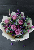 Lavender Floral Hand-tied (Welcome Home Gift Set)