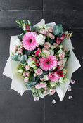 Pretty Pink Hand-tied (Welcome Home Gift Set)