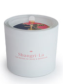 Shangri - La Rose & Geranium Fragrant Candle