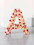 Standing Letter and Word Arrangements A to Z 40 cm tall from