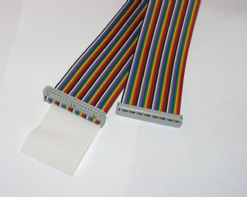 STX104(-ND) 40-Conductor Ribbon Cable 7 inch length