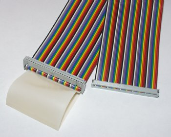 Tracer or Summit 50-Conductor Ribbon Cable 18 inch length - Apex Embedded Systems LLC