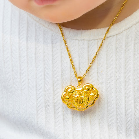 24K Gold Baby Locks
