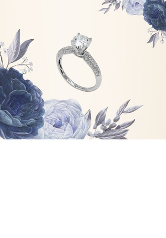 Engagement Ring Collection. Brilliant Promises that Sparkle as Bright as the Future