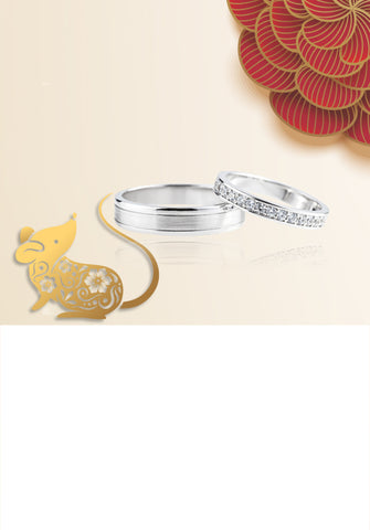 Wedding Bands Collection. Two Shining Symbols of a Forever Love