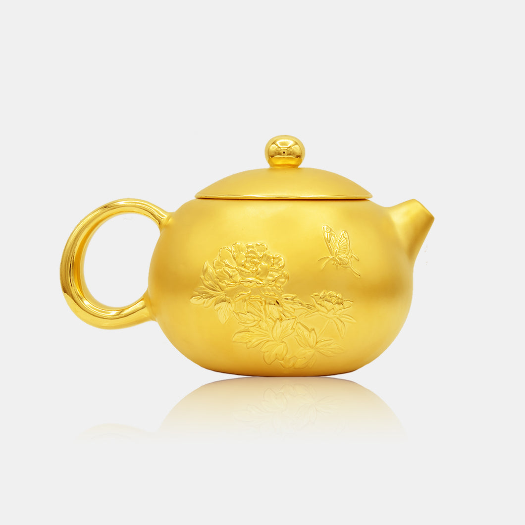 24K Gold Tea Pot