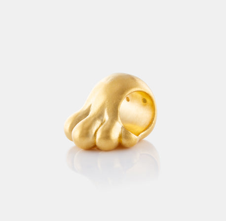 24K Gold High Five Charm