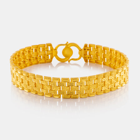 24K Gold Power Link Bracelet