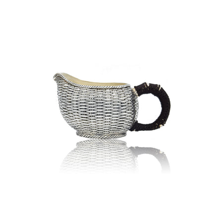 Sterling Silver  Bamboo Pitcher