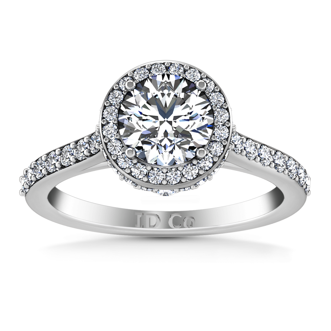 Halo Engagement Ring Milana