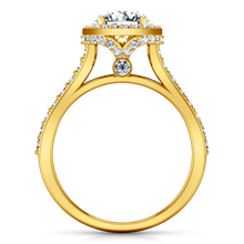 Load image into Gallery viewer, Halo Engagement Ring Milana