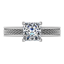 Load image into Gallery viewer, Solitaire Engagement Ring Rowan