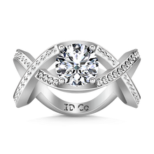 Load image into Gallery viewer, Solitaire Engagement Ring Solagne