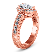 Load image into Gallery viewer, Halo Engagement Ring Candence