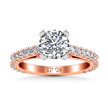 Load image into Gallery viewer, Pave Engagement Ring Eden