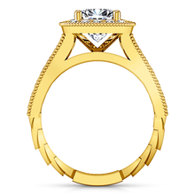 Load image into Gallery viewer, Halo Cushion Cut Engagement Ring Geneve