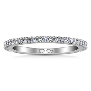 Diamond Wedding Band Camille