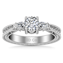 Load image into Gallery viewer, Three Stone Engagement Ring Haven