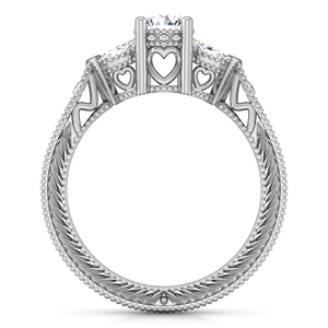 Three Stone Engagement Ring Haven