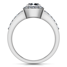 Load image into Gallery viewer, Halo Engagement Ring Eve