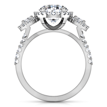 Load image into Gallery viewer, Halo Engagement Ring Summer