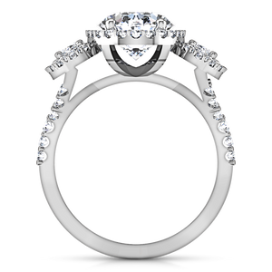 Halo Engagement Ring Summer