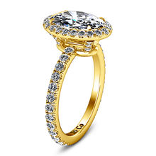 Load image into Gallery viewer, Halo Engagement Ring Elsa