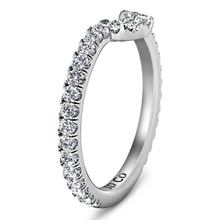 Load image into Gallery viewer, Diamond Wedding Band Elsa